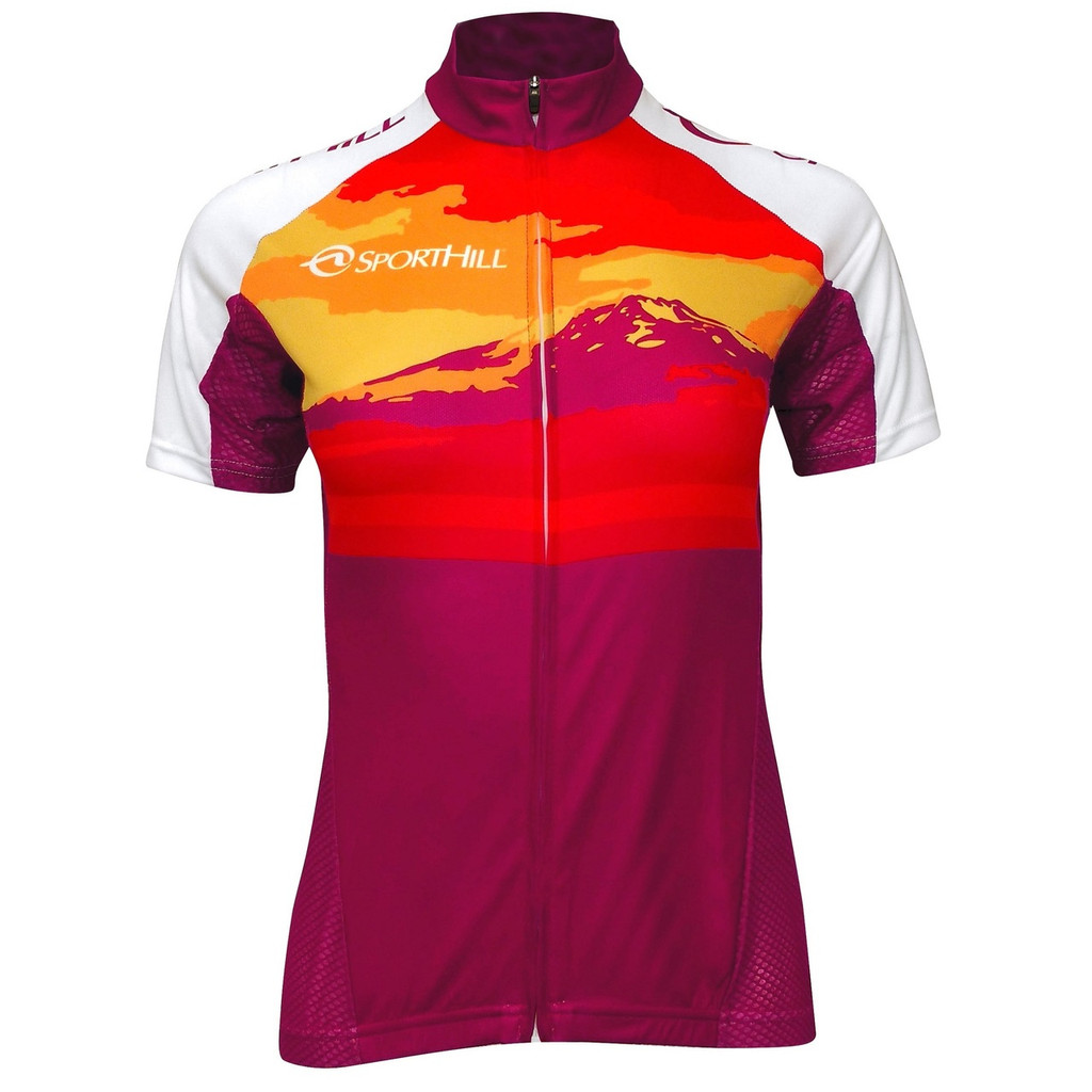 Women's SportHill Cycling Jersey (Mountain Graphic)