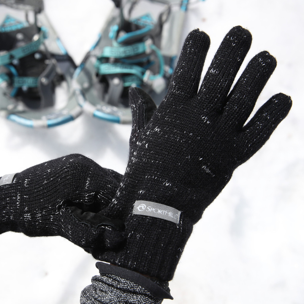 Reflective Knit Glove