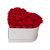 Gorgeous Red Precious Heart Box