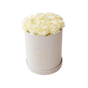 White Chocolate Maxi Round Precious Box
