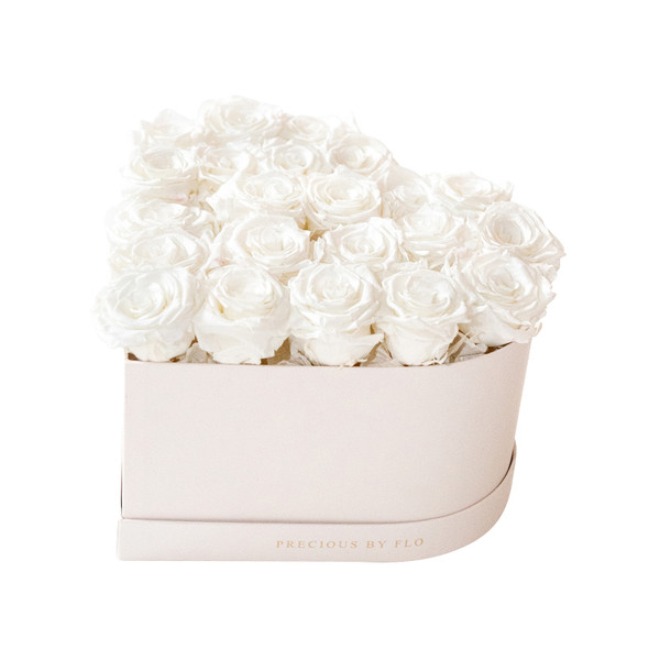 Purest White Precious Heart Box