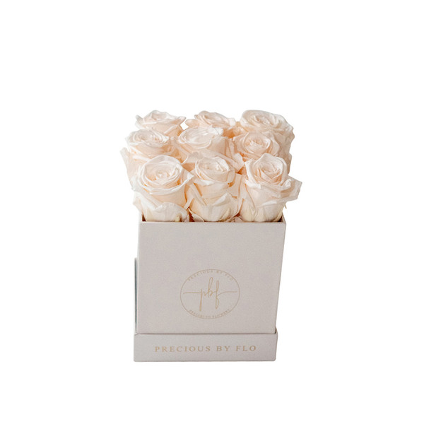 Baby Blush Pink Medium Square Precious Box