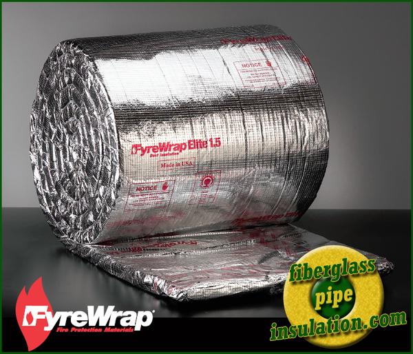 Unifrax Fyrewrap Elite 1.5 Duct Insulation Fire Protection
