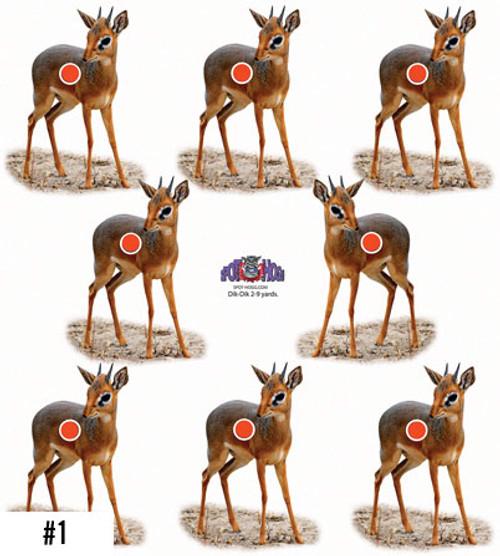 Dik Dik Safari Target