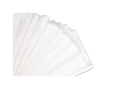 "16""x16"" 20 Pack Ultra Edgeless Microfiber Towels White"