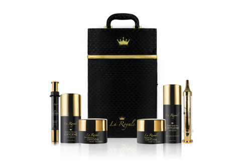Complete Oxygène Treatment Set in Suitcase