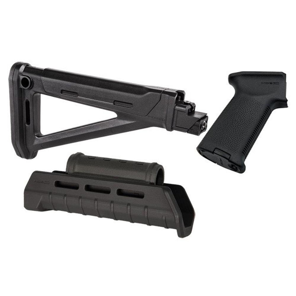 MAGPUL AK47 MOE MLOK FURNITURE KIT - BLACK