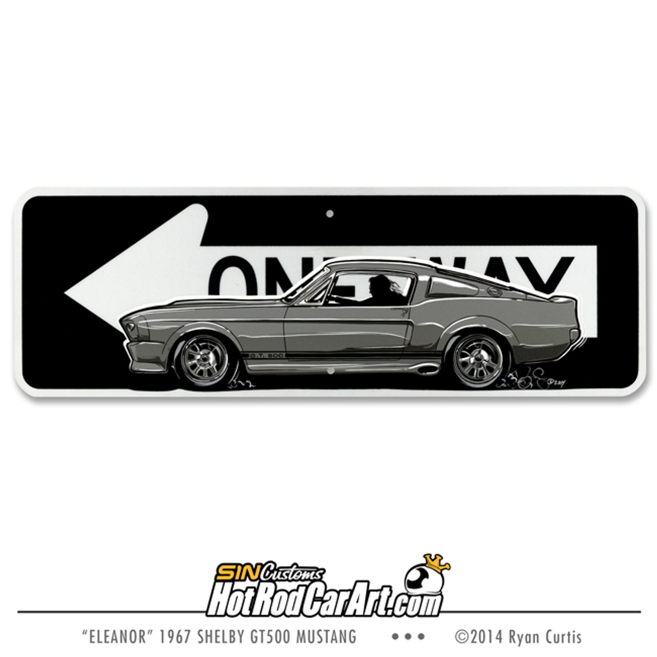 Eleanor - 1967 Shelby GT 500 Mustang- Original Painting