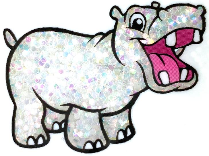 "Dwarves' Gems - White Iridescent Small Chunky Glitter - 1/24"" Clear Iridescent Glitter"