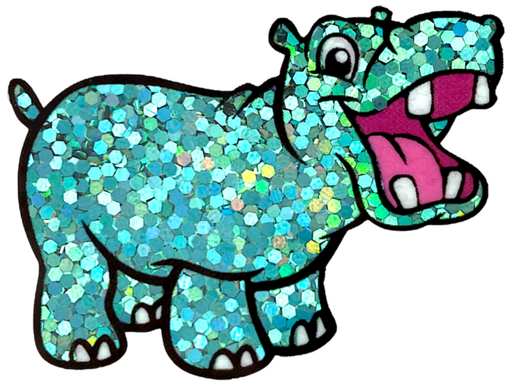 "Chunky Holo Glitter - Don't Teal Anyone - Holographic Teal Turquoise Aqua Chunky Holographic Glitter 1/24"""