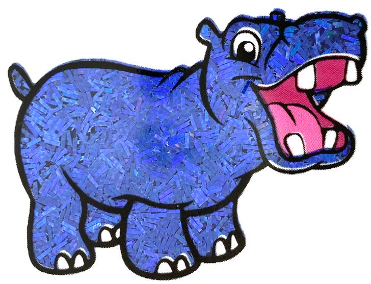 Glitter Hippo® Holographic Sprinkle Glitter - Smash Cake - Deep Blue Navy Holo Glitter