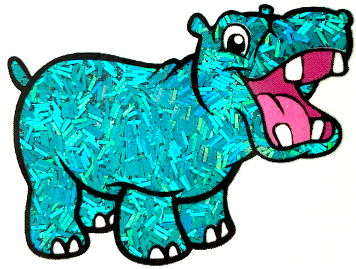 Glitter Hippo® Holographic Sprinkle Glitter - Cupcakery - Teal Turquoise Aqua Blue-Green Holo Glitter