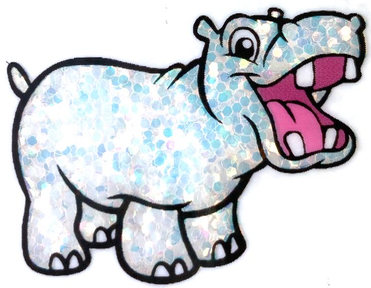 Glitter Hippo® Iridescent Chunky Glitter - Spilled Milk - Iridescent White Opal Glitter