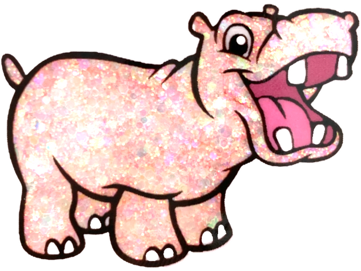Pastel Chunky Mix Glitter - Starfish - Peach Pink Coral Chunky Mix Glitter