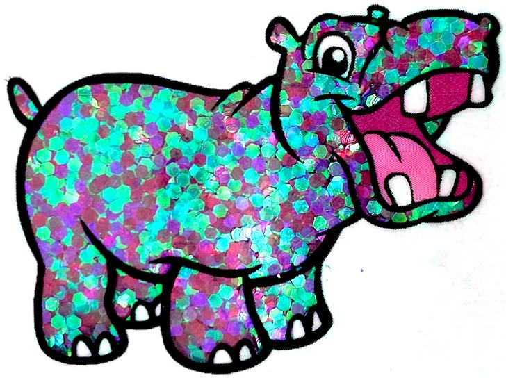 Iridescent Small Chunky Glitter - Dark Carnival - Glitter Hippo® Purple, Pink, Teal