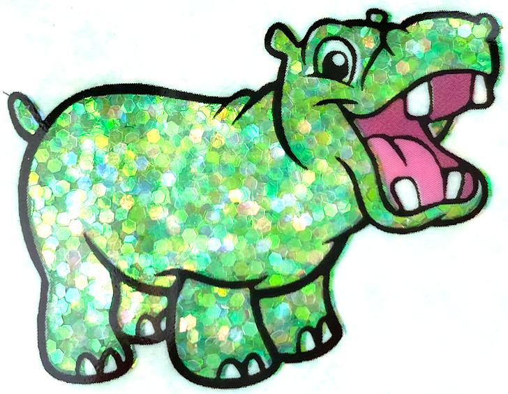Iridescent Small Chunky Glitter - Happy Go Lucky - Glitter Hippo® Green Yellow