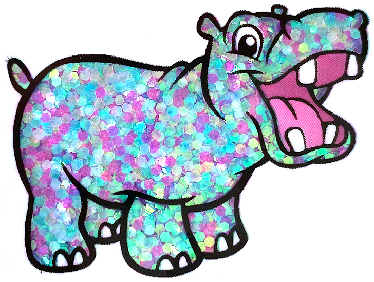 Iridescent Small Chunky Glitter - Magical Mystery - Glitter Hippo® Teal Blue Pink