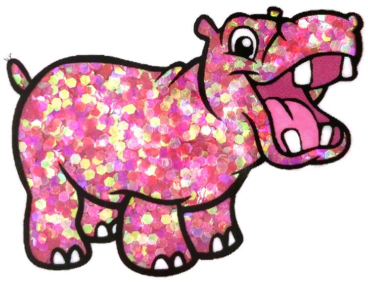 Iridescent Small Chunky Glitter - Birthday Queen - Glitter Hippo® Pink Red Magenta