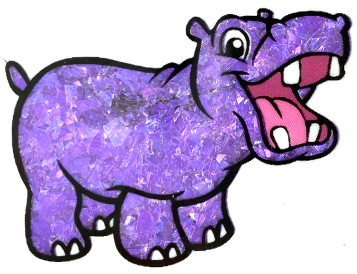 Purple Iridescent Mylar Flakes - Iridescent Purple Glitter Flakes - GlitterHippo.com Glitter Flakes for Resin, Nails, Tumblers, and more
