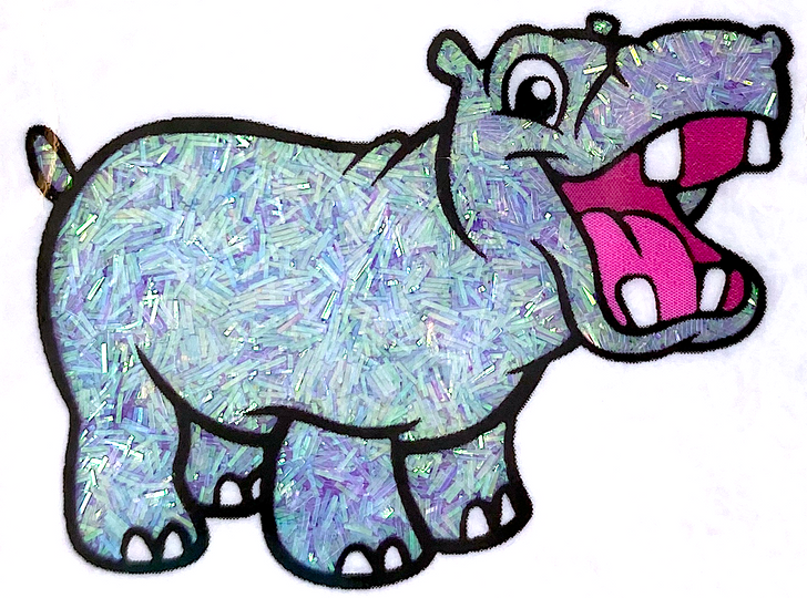 Iridescent Sprinkle Glitter - Taro Froyo - Lilac Purple Tinsel Glitter GlitterHippo.com