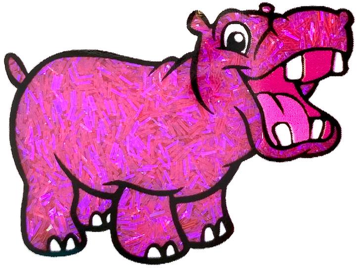Iridescent Sprinkle Glitter - Fashion Police - Fuchsia Magenta Tinsel Glitter GlitterHippo.com