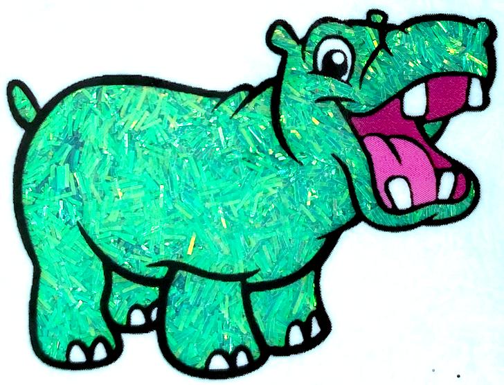 Iridescent Sprinkle Glitter - Azulado - Teal Blue-Green Tinsel Glitter GlitterHippo.com