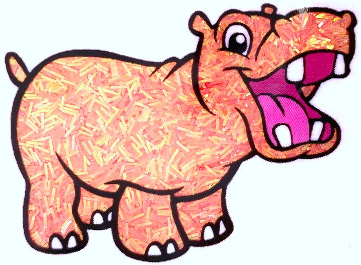 Iridescent Sprinkle Glitter - Poke Bowl - Coral Peach Apricot Tinsel Glitter GlitterHippo.com
