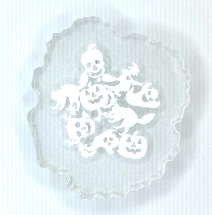 Seasonal Shape Glitter Mix - Spooks & Haunts