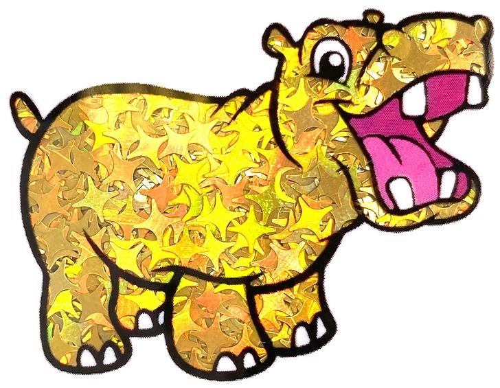 Holographic Gold Starbursts Glitter - GlitterHippo.com