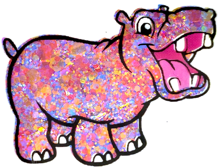 GlitterHippo.com Rainbow Chunky Mix - Discombobulated - Purple, Pink, Gold Chunky Mix Glitter - Glitter for Tumblers, Glitter for Resin, Glitter for Nails, Glitter for Slime