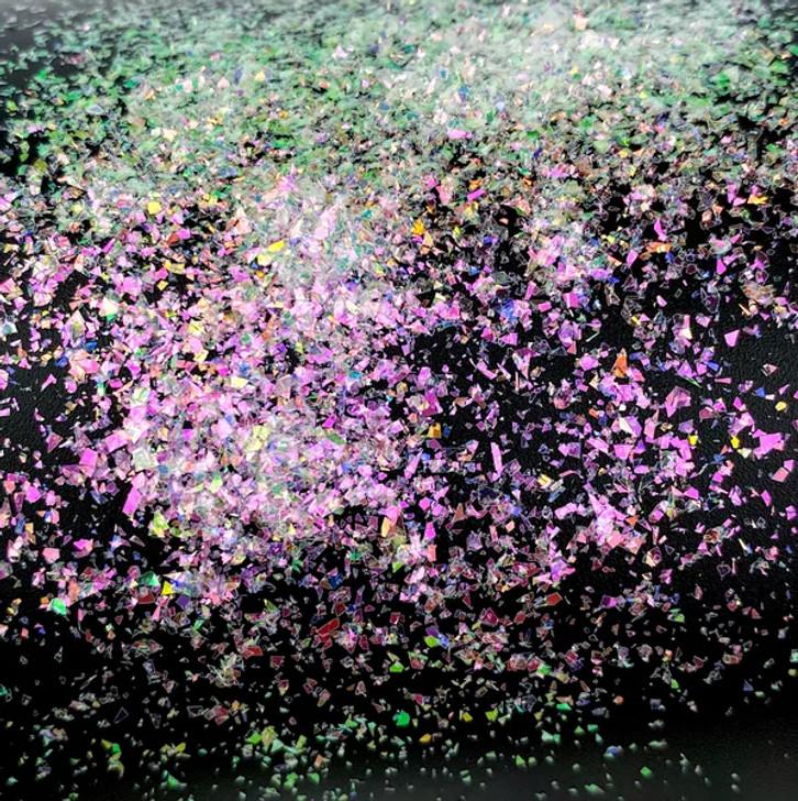 Iridescent Dream flakes- Invisible Quartz- Glitter Hippo®