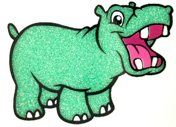 "Crystal Glitter - Green Jade - Fine 1/128"" Green Glitter - GlitterHippo.com"