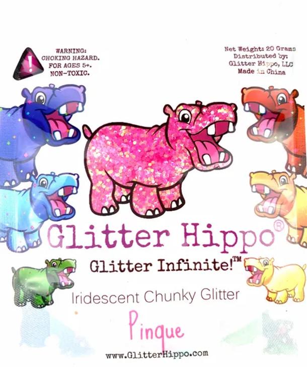 Iridescent Chunky Glitter - Pinque - Glitter Hippo®
