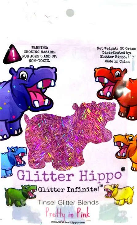 Holographic Tinsel Blend - Pretty in Pink - Glitter Hippo®