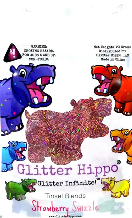 Holographic Tinsel Blend - Strawberry Swizzle- Glitter Hippo®