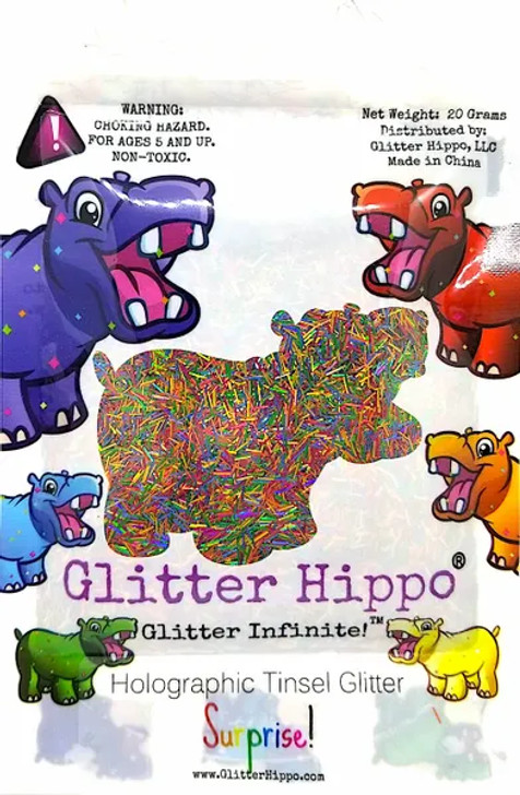 Holographic Tinsel Blend - Surprise! - Glitter Hippo®