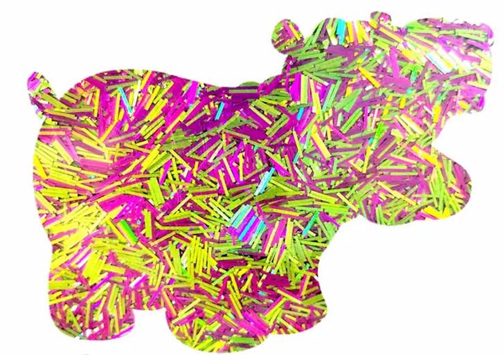 Holographic Tinsel Blend - Tropical Punch - Glitter Hippo®