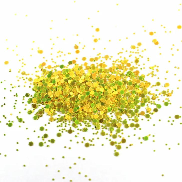 Color Shift Chunky Glitter - Lemoncello