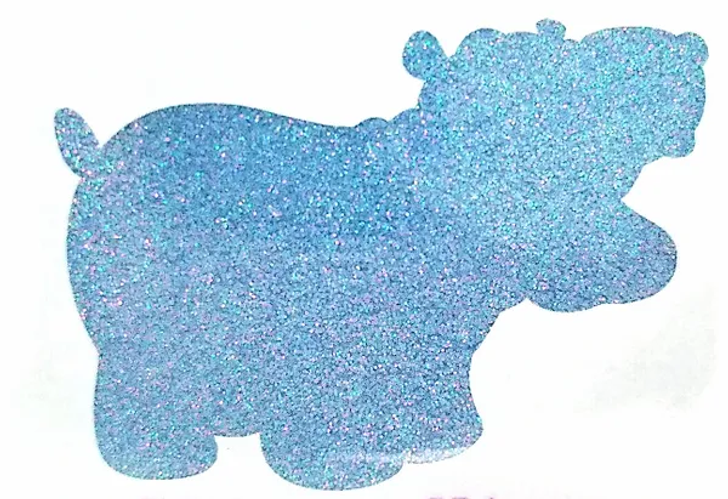 Heat Activated Thermal Glitter - Sky Blue to Colorless - Color Changing