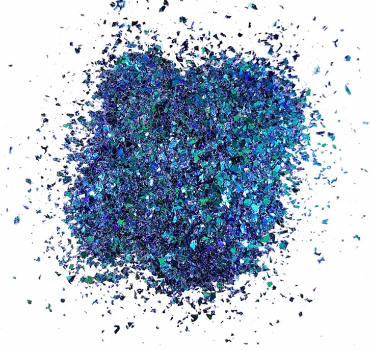 Color Shift Mylar Flakes - Crashing Waves - Glitter Hippo®