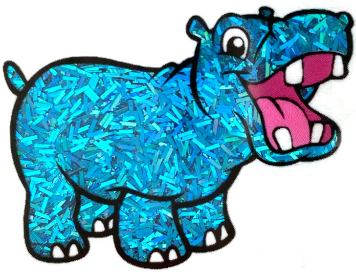 Glitter Hippo® Holographic Sprinkle Glitter - Blue Slushie - Bright Blue Holo Glitter