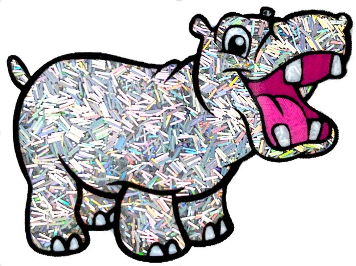 Glitter Hippo® Holographic Sprinkle Glitter - Sugar Crystals - Silver Holo Glitter
