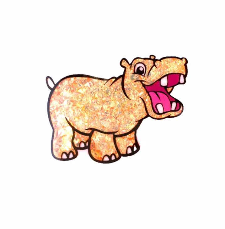 Neon Mylar Flakes - Orange Panic - Glitter Hippo®