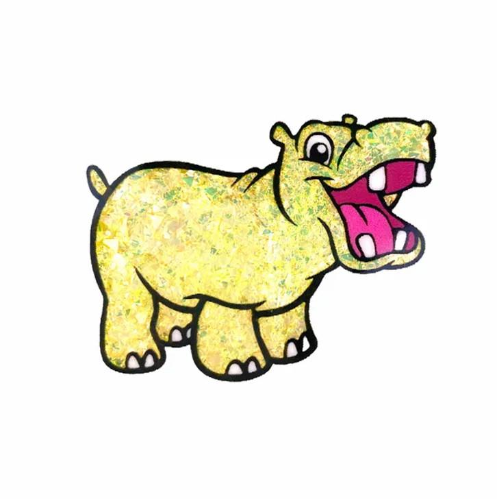 Neon Mylar Flakes - Rich Giraffe - Glitter Hippo®