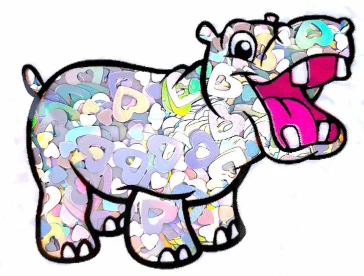 Holographic Shape Glitter - Holographic Heart Mix  - Glitter Hippo®