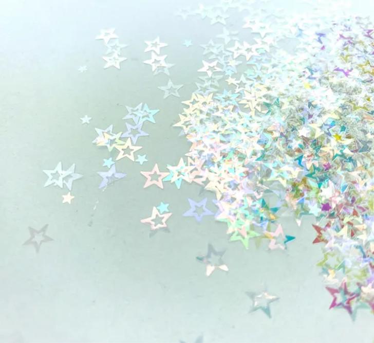Iridescent Shape Glitter -  Iridescent Star mix- Glitter Hippo®