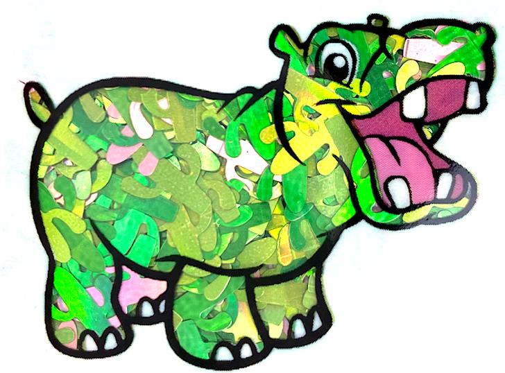 Holographic Cactus Glitter - Cacti Cactus Confetti - Glitter Hippo - Cactus Shape Glitter