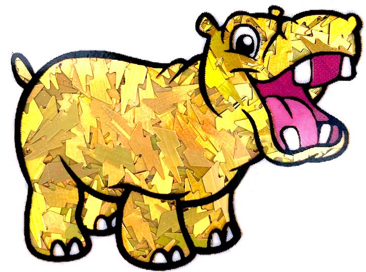 Holographic Lightning Glitter - Gold Lightning Bolts - Glitter Hippo