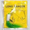 One More Cast - Ginger Bait Bug Rig 2/0 Green/White