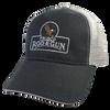Frisco Rod & Gun Cap Black Grey Mesh
